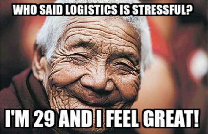 work meme about stressful jobs making you age faster