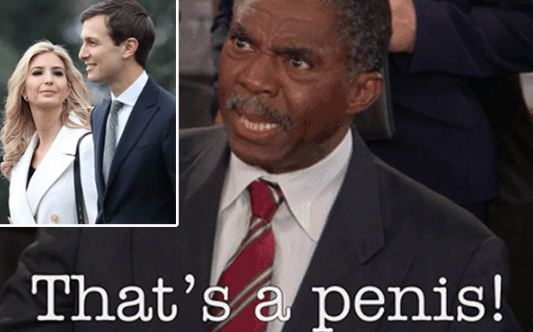 Facial expression - That's a penis!