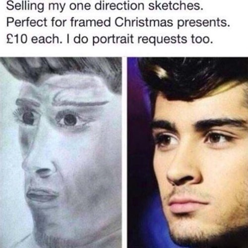 cringeworthy one direction sketch for sale also does portrait requests