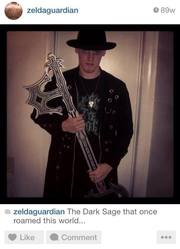 cringe instagram of the dark sage that once roamed this world