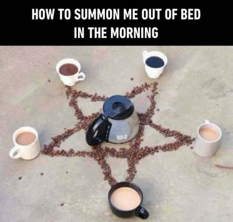 Fashion accessory - HOW TO SUMMON ME OUT OF BED IN THE MORNING