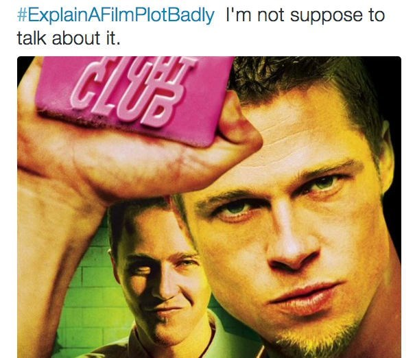Forehead - #ExplainAFilmPlotBadly I'm not suppose to talk about it. CLUS