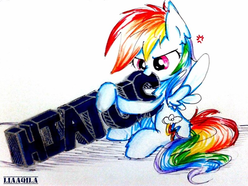 hiatus intensifying Memes hiatus rainbow dash lia aqila - 9021527296