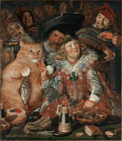 fat cat artworks - Painting - JasCar harticon
