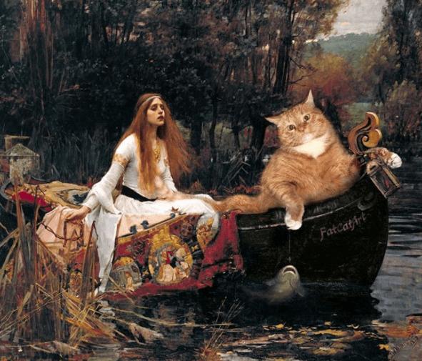 fat cat artworks - Painting - Fatcati