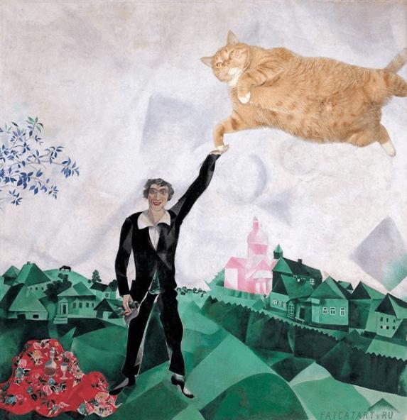 fat cat artworks - Illustration - FATCATARTY RU