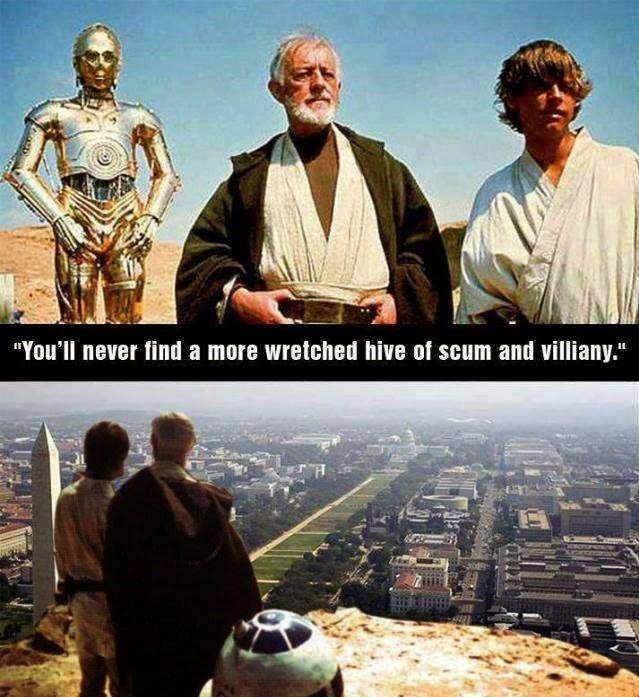 """Movie - """"You'll never find a more wretched hive of scum and villiany."""""""