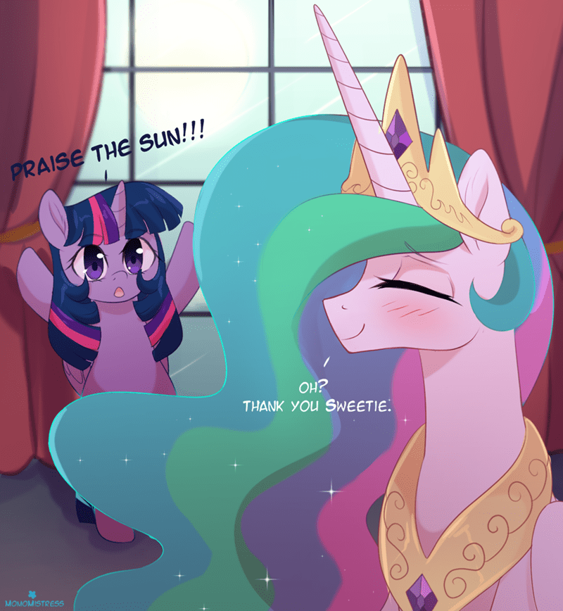 shipping twilight sparkle dark souls praise the sun momomistress princess celestia - 9023676672