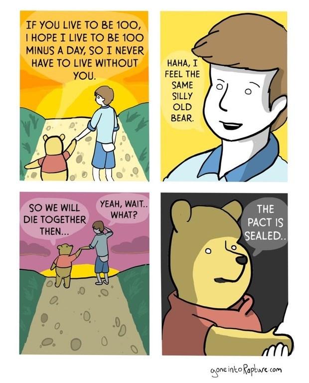 funny webcomics winnie the pooh