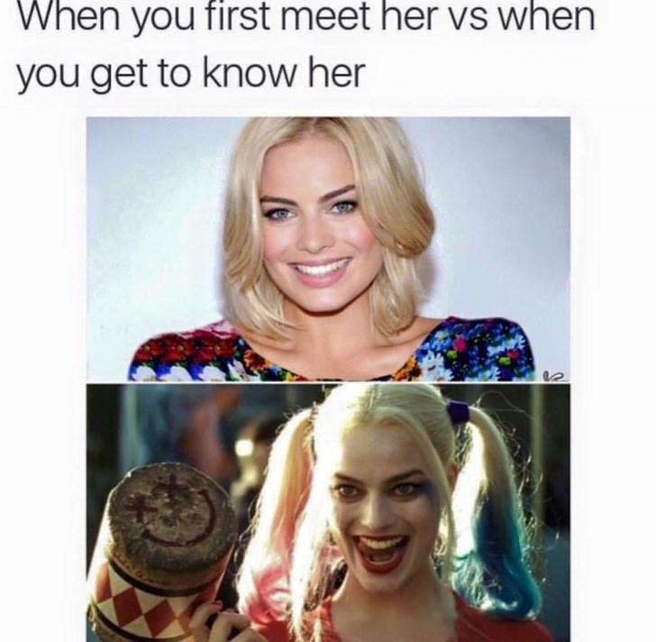 inappropriate meme about harley quinn