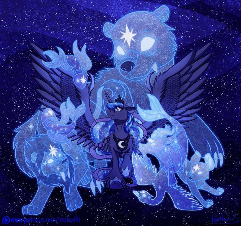 inuhoshi-to-darkpen ursa minor princess luna - 9024297216