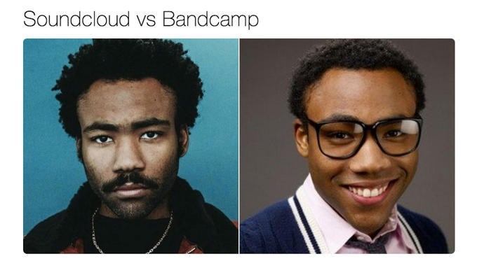 soundcloud vs bandcap childish gambino donald glover