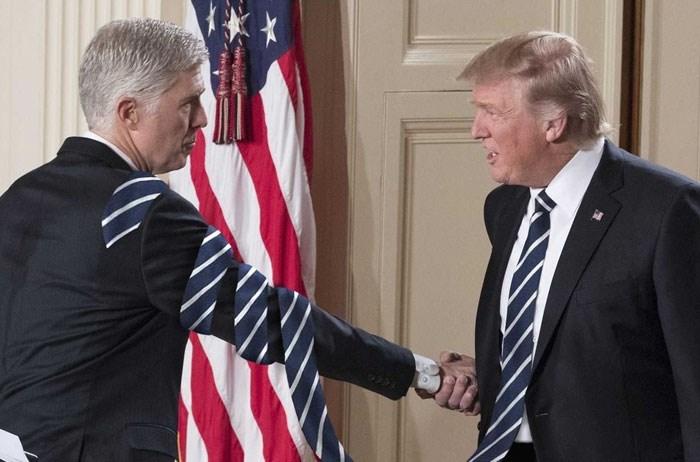 long tie photoshop - Handshake