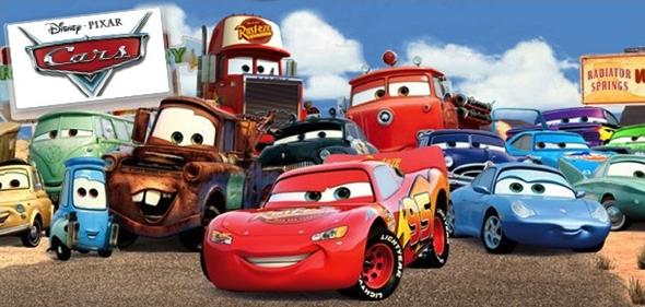 Animated cartoon - -PIXAR Rulen Cars BADIATOR M SPRINGS