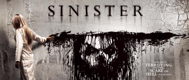 """Text - SINISTER MY """"GENUINELY TERRIFYING. THIS WILL SCARE THE HELL OUT OF YOU GN"""