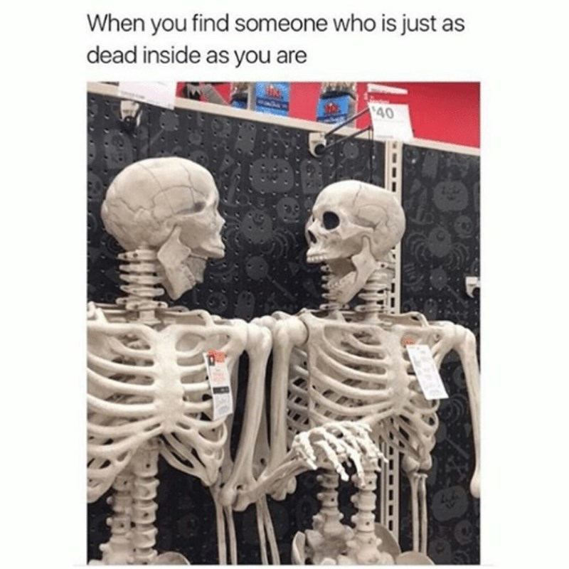 dead inside skeletons