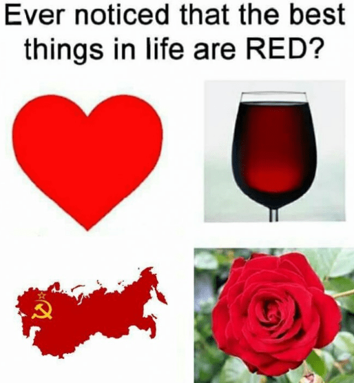 Red - Ever noticed that the best things in life are RED?