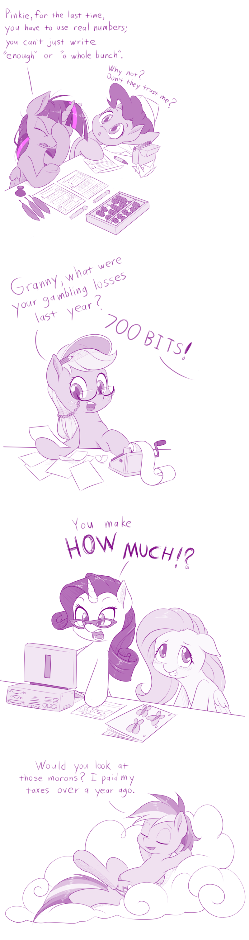 dstears horse taxes applejack dwight likes sparkles twilight sparkle pinkie pie rarity cartoon horse program granny smith fluttershy rainbow dash - 9025372928