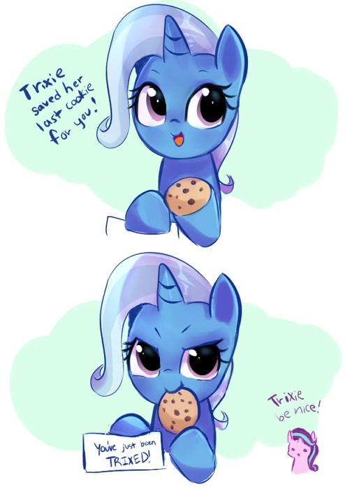 the great and powerful trixie starlight glimmer web comics million cookies