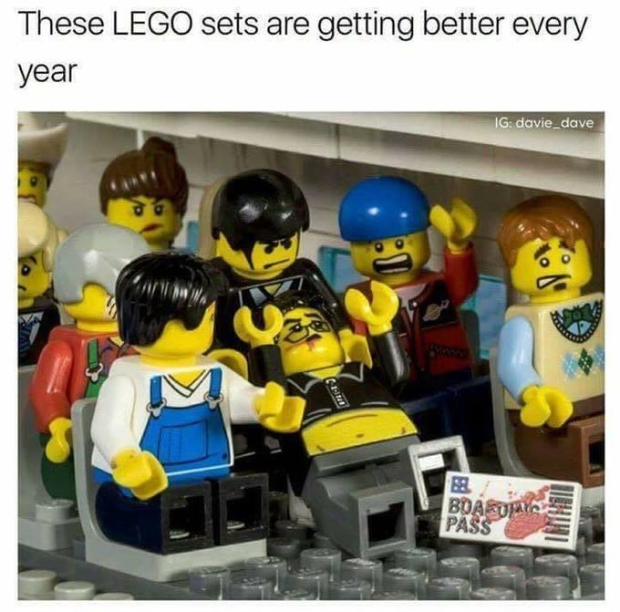 lego Memes united airlines - 9026924800