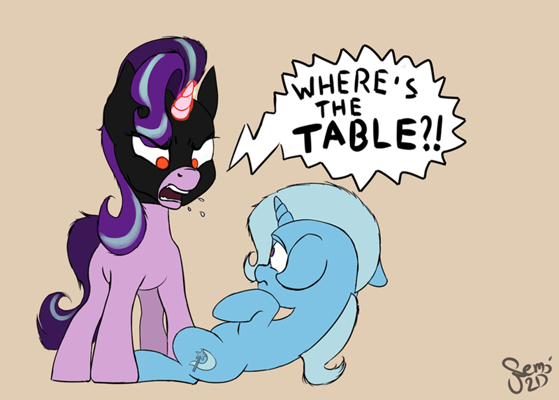 the great and powerful trixie,the dark knight rises,starlight glimmer,baneposting,all bottled up,ponify,batman,nemo2d
