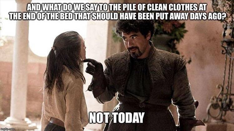 cleaning Game of Thrones Memes