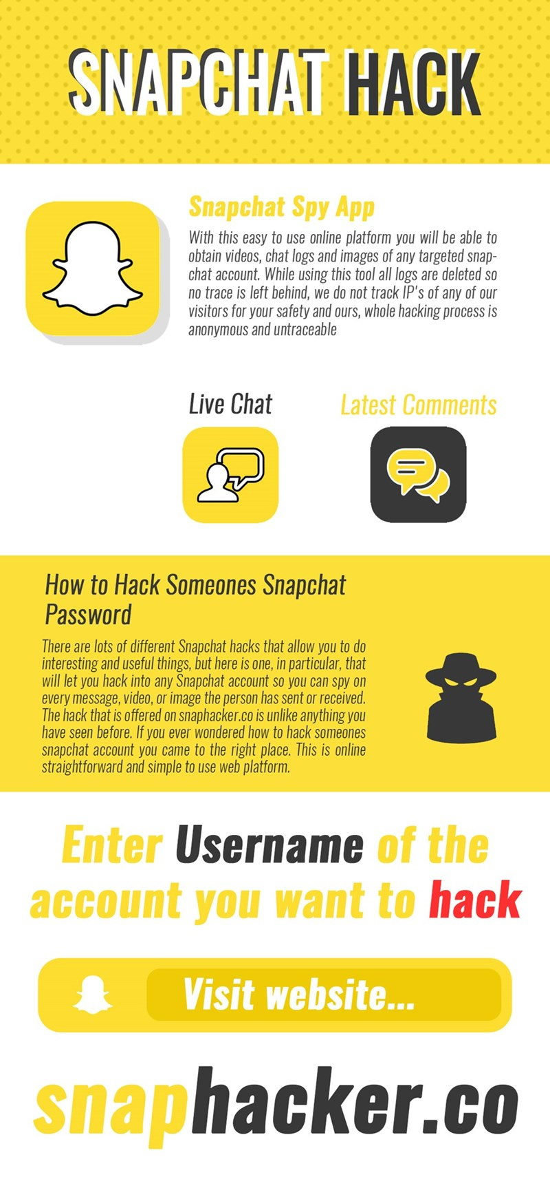 How to hack snapchat - Home