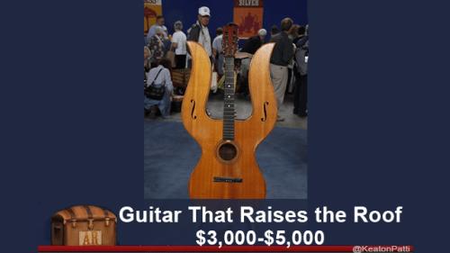 String instrument - SILYER Guitar That Raises the Roof $3,000-$5,000 AR KeatonPatti