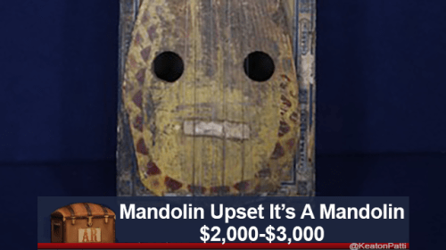 Organism - Mandolin Upset It's A Mandolin $2,000-$3,000 AR KeatonPatti