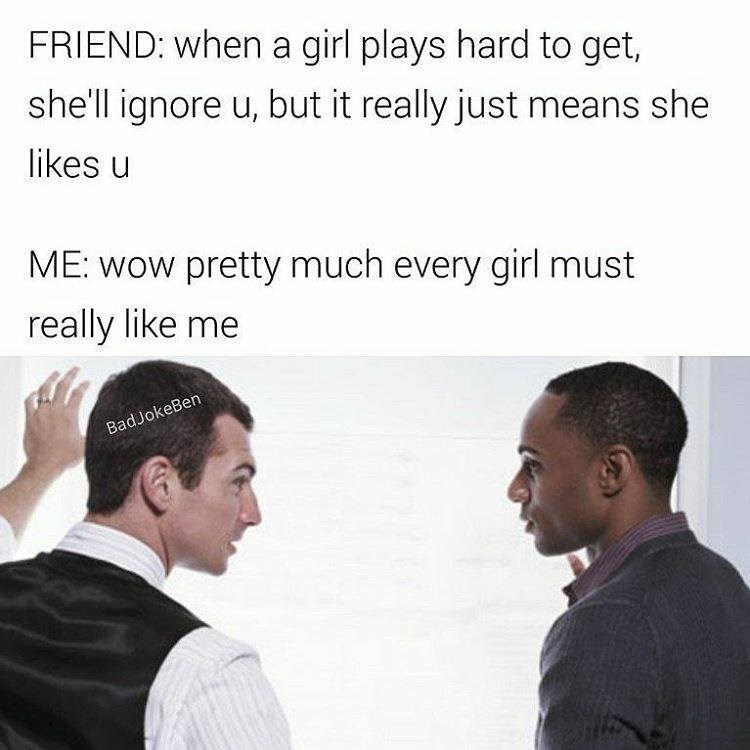 playing hard to get with a girl