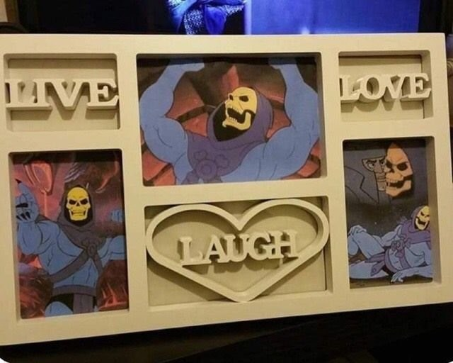 Live Laugh Love with Skeletor photos.