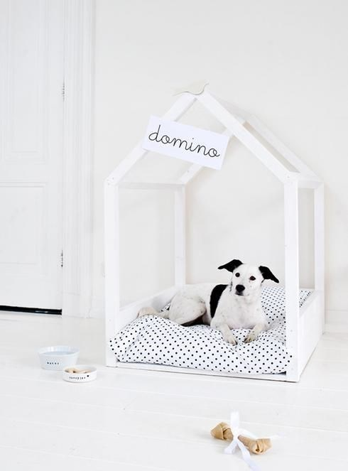 Minimalist DIY dog bed