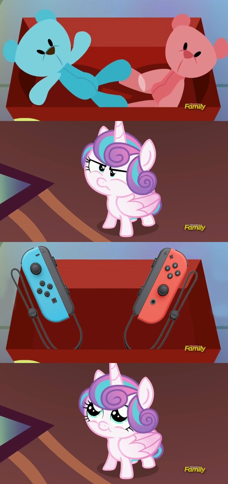nintendo switch flurry heart screencap comic a flurry of emotions - 9028833024