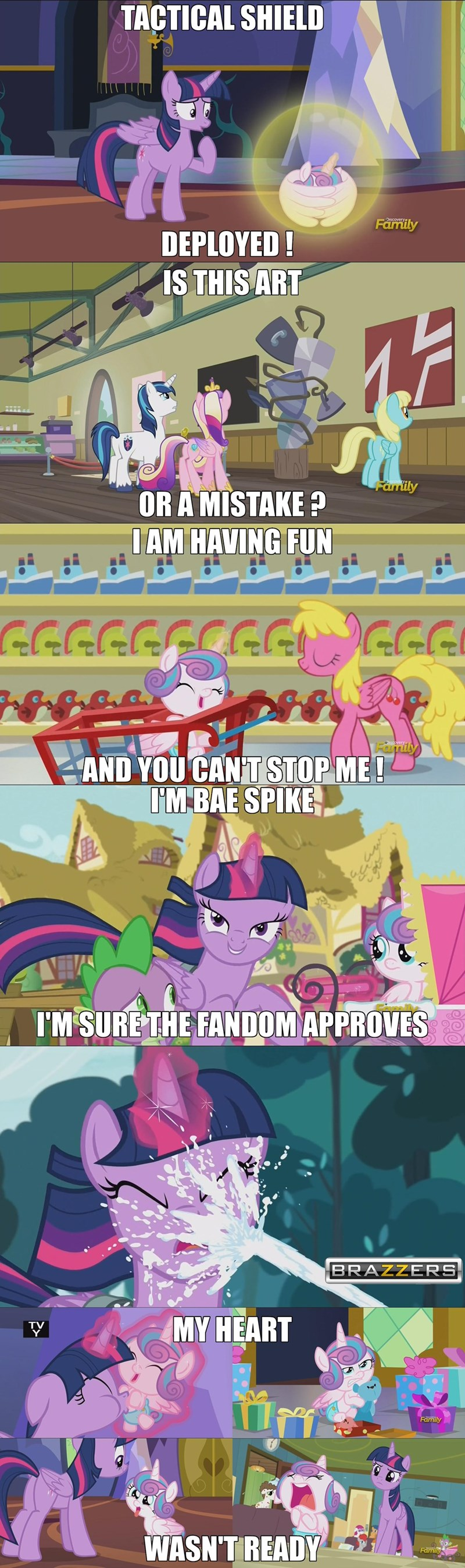 spike that looks naughty princess cadence twilight sparkle shining armor Memes a flurry of emotions - 9028936192