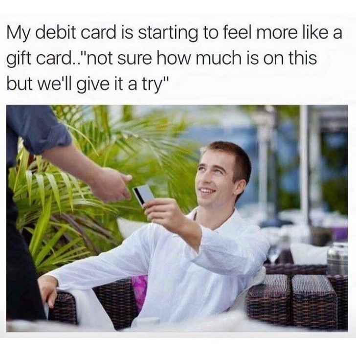 meme debit card is starting to feel more like a gift card
