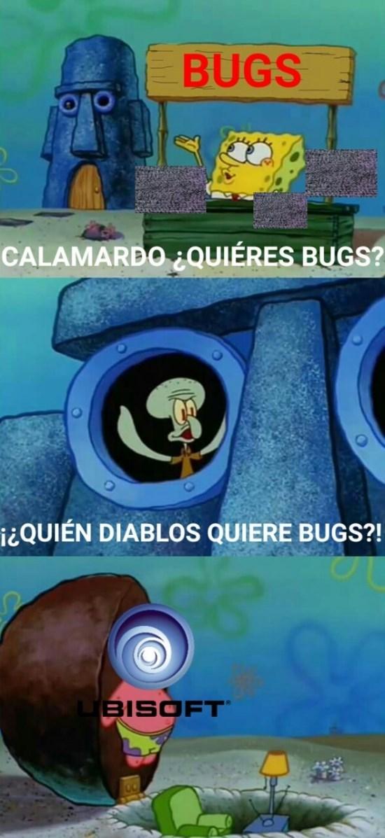 ubisoft y los bugs