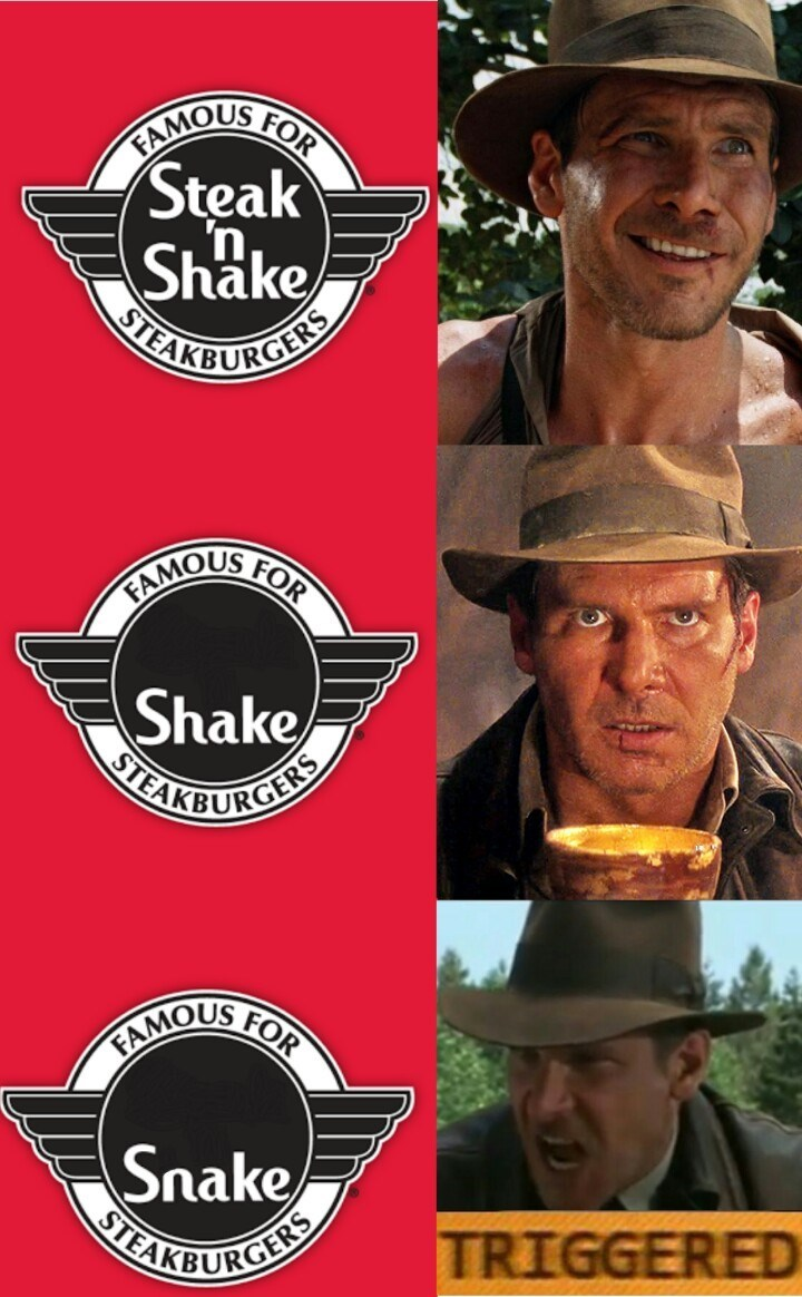 Indiana Jones movies Memes snakes - 9029889792