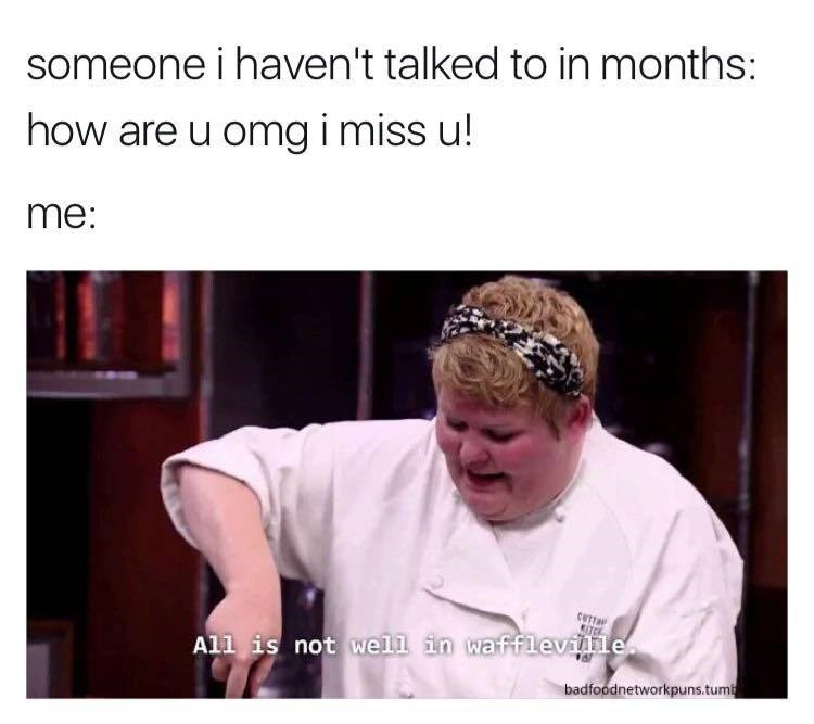 cooking friends Memes waffles