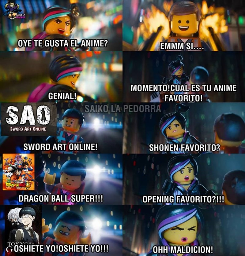 me gusta el anime