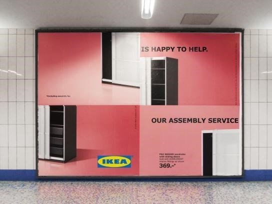 Room - IS HAPPY TO HELP. OUR ASSEMBLY SERVICE Sole ww IKEA 369.-