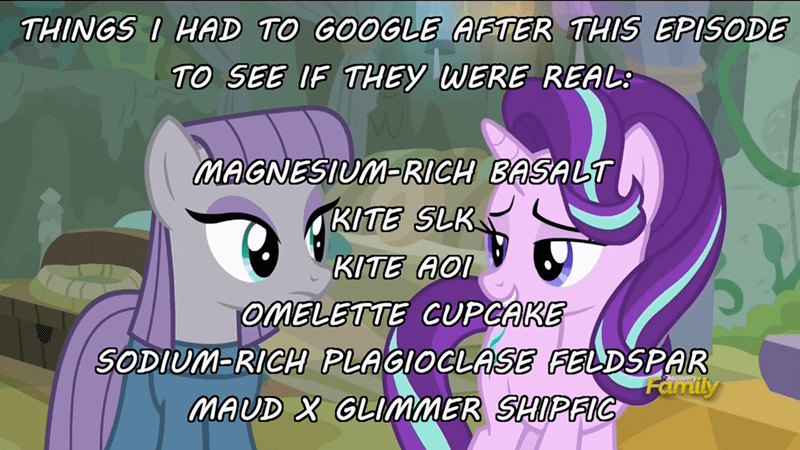 geology kites shipping maud pie starlight glimmer rock solid friendship - 9030668544