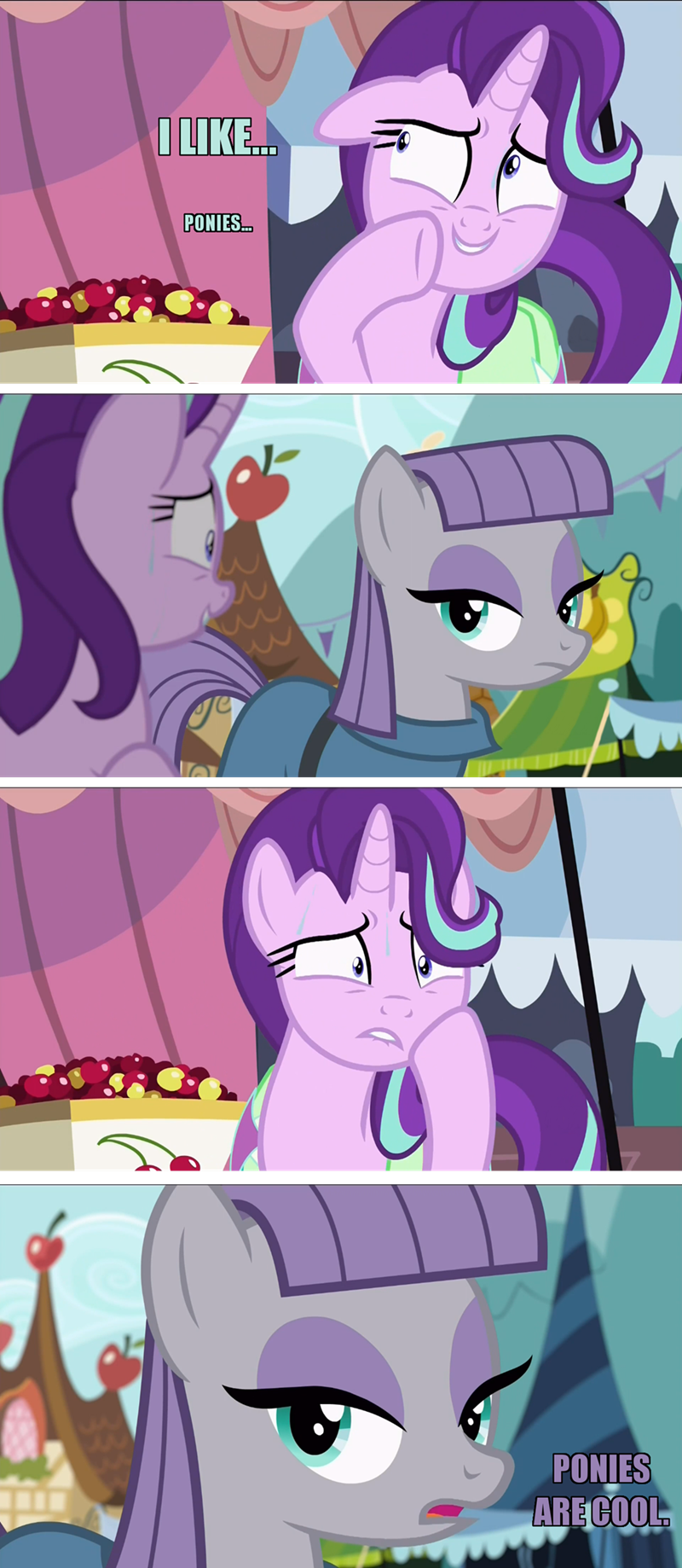 Bronies starlight glimmer screencap comic maud pie rock solid friendship - 9030669312
