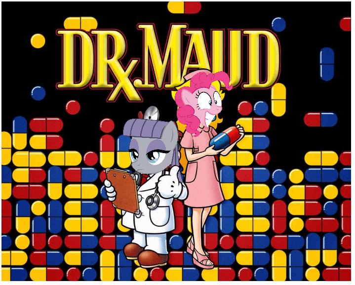 Dr Mario pinkie pie ponify maud pie rock solid friendship - 9030676224