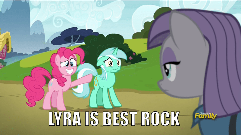 screencap lyra heartstrings pinkie pie Memes maud pie best pony rock solid friendship - 9030869248