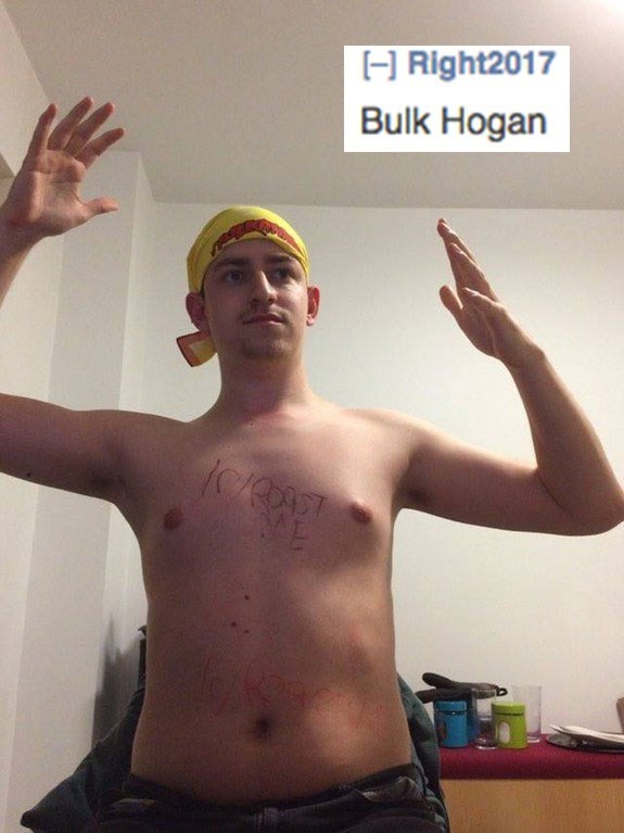 Barechested - H Right2017 Bulk Hogan