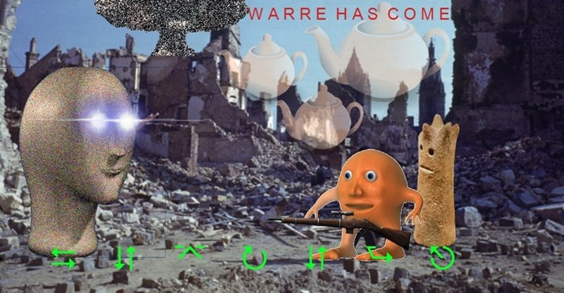 Action-adventure game - WARRE HAS COME