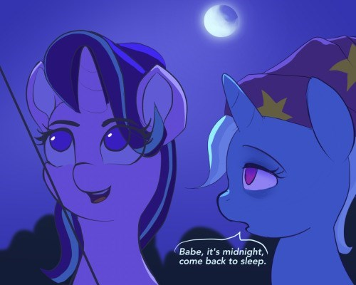 shipping the great and powerful trixie starlight glimmer kartoon korner rock solid friendship - 9031703296