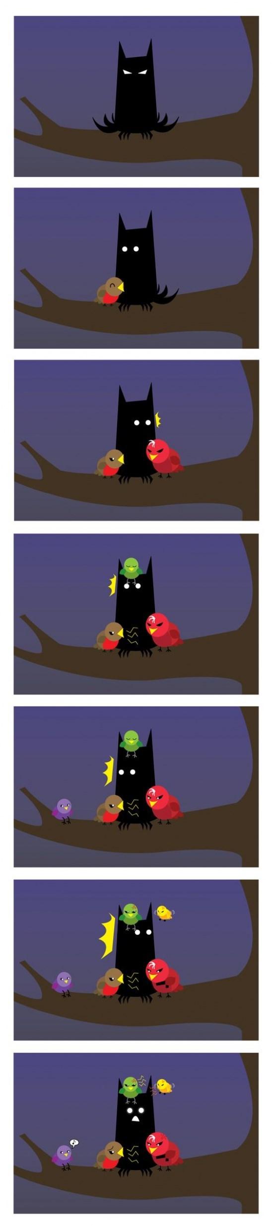 resumen en un comic del batman moderno
