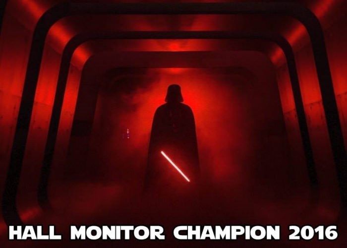 Star Wars Meme Hall monitor champion