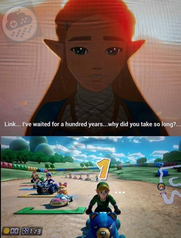 the legend of zelda what took you so long meme